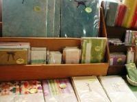 周南市鹿野高齢者生産活動センター原田さんの手漉き和紙